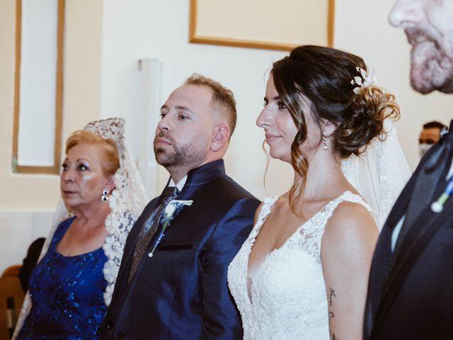 La boda de Cesar y Lorena en Valdilecha, Madrid 34