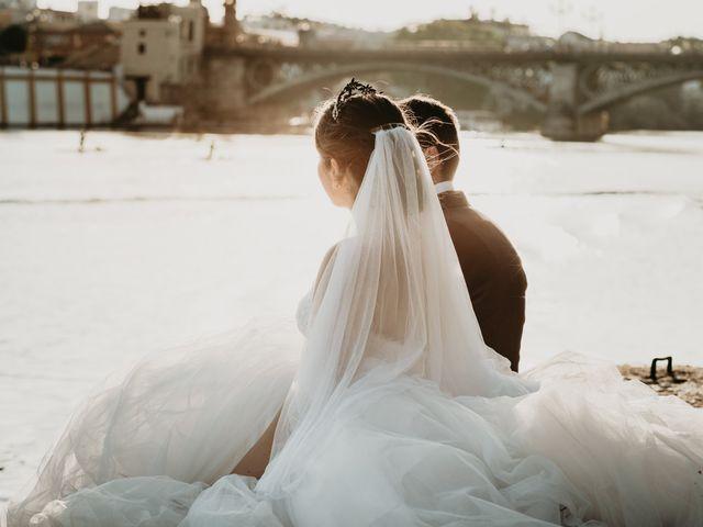 La boda de Laura y Jose Antonio en La Algaba, Sevilla 74