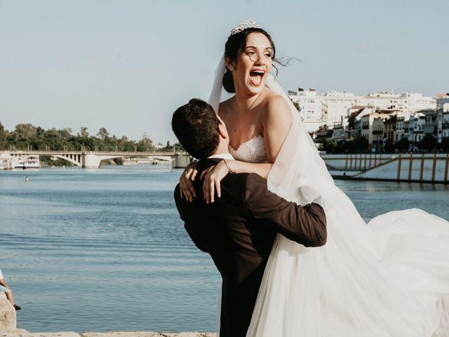La boda de Laura y Jose Antonio en La Algaba, Sevilla 70