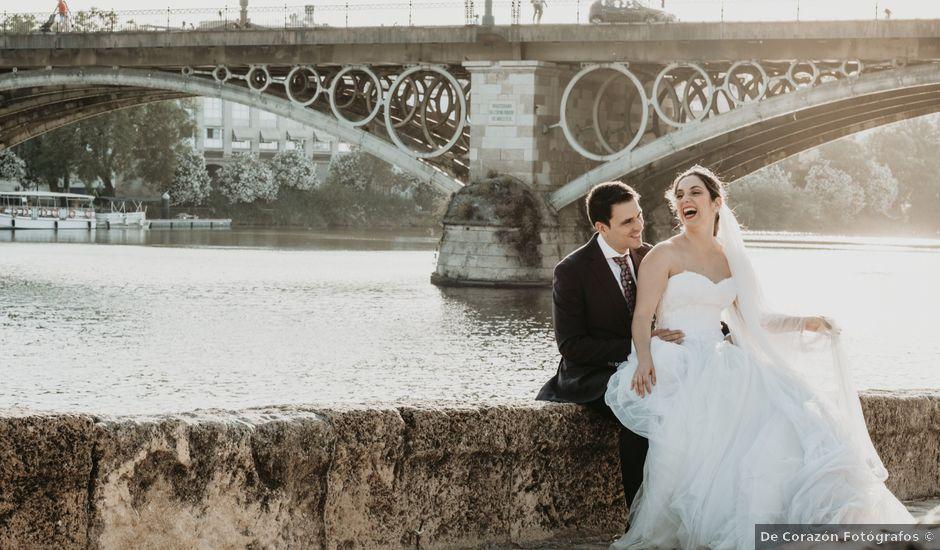 La boda de Laura y Jose Antonio en La Algaba, Sevilla