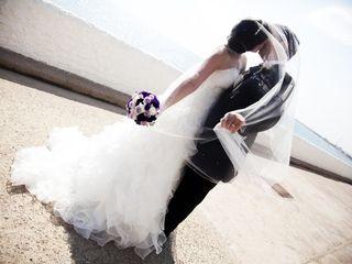 La boda de Albert y Mirian