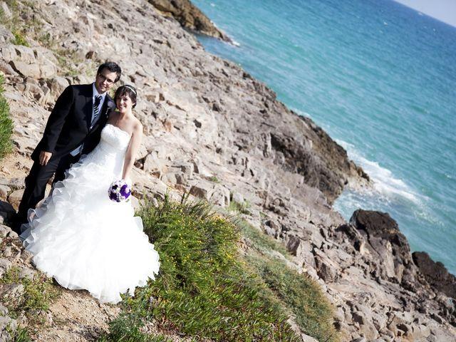La boda de Mirian y Albert en Vilanova I La Geltru, Barcelona 18