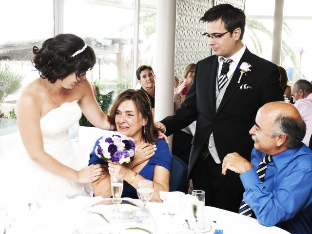 La boda de Mirian y Albert en Vilanova I La Geltru, Barcelona 33