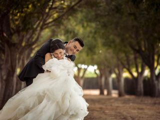 La boda de Adela y Sisco