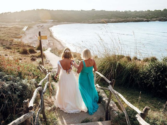 La boda de Manuel y Eva en Urbanització Son Parc, Islas Baleares 12