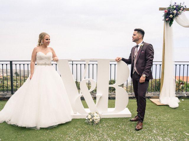 La boda de Brayan  y Vienna en La Victoria De Acentejo, Santa Cruz de Tenerife 15