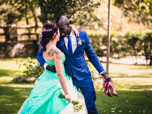 La boda de Elsa y Titu