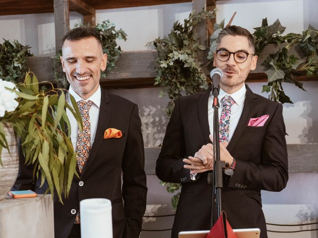 La boda de Alejandro y Carlos en Otero De Herreros, Segovia 17