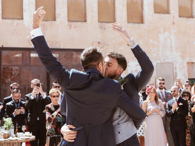 La boda de Alejandro y Carlos en Otero De Herreros, Segovia 40