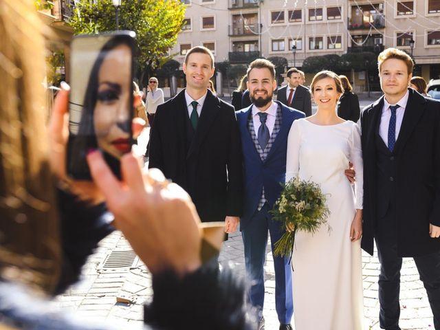 La boda de David y Lucia en Almansa, Albacete 1