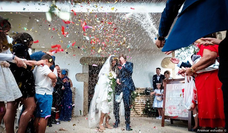 La boda de Ángel y Leti en Lousame, A Coruña