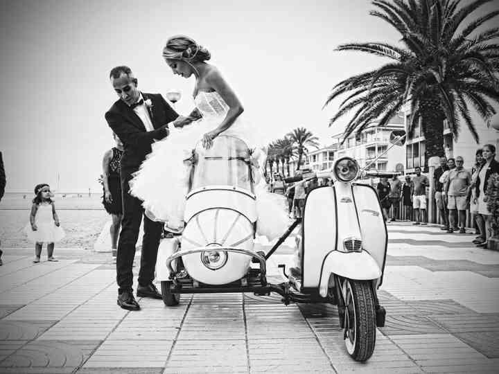 La boda de Pol y Marta