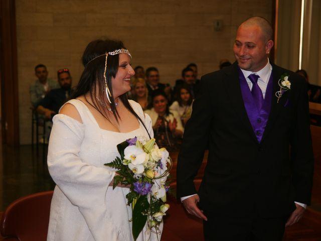 La boda de Javier y Isabel en Sabadell, Barcelona 1