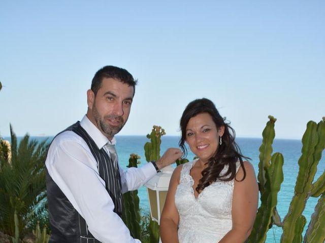 La boda de Rocio y Rafael en La/villajoyosa Vila Joiosa, Alicante 25