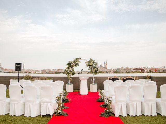 La boda de Adrián  y Veronica en Zaragoza, Zaragoza 2