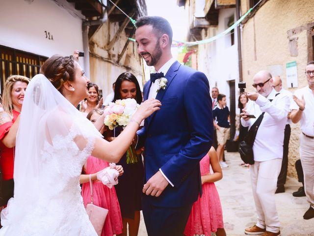 La boda de Adolfo y Mélissa en Valverde De La Vera, Cáceres 24