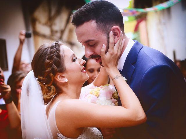 La boda de Adolfo y Mélissa en Valverde De La Vera, Cáceres 25
