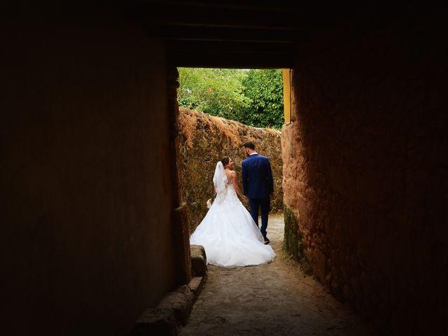 La boda de Adolfo y Mélissa en Valverde De La Vera, Cáceres 33
