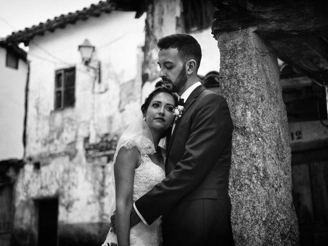 La boda de Adolfo y Mélissa en Valverde De La Vera, Cáceres 36