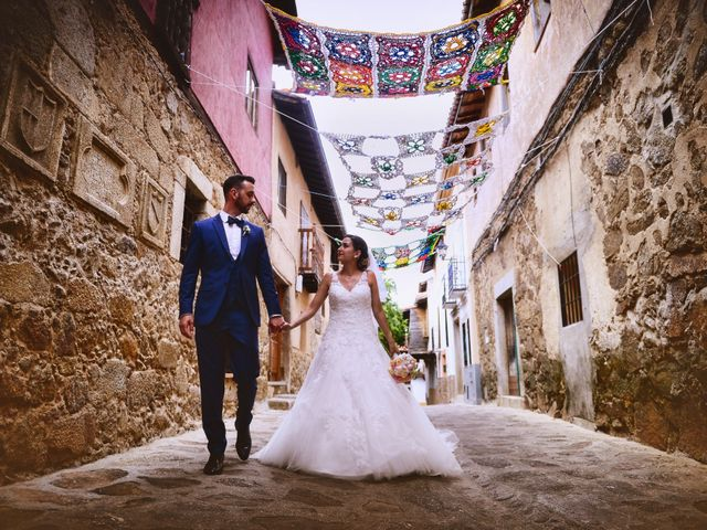 La boda de Adolfo y Mélissa en Valverde De La Vera, Cáceres 40