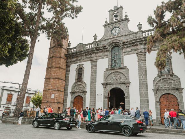 La boda de Dani y Judith en Las Palmas De Gran Canaria, Las Palmas 20