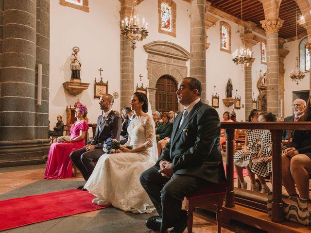 La boda de Dani y Judith en Las Palmas De Gran Canaria, Las Palmas 24