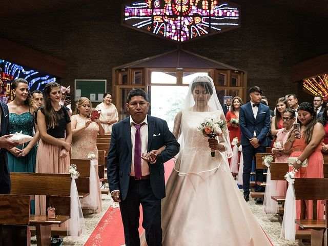 La boda de Jame y Karolina en Ojen, Málaga 15