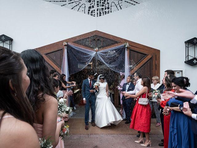 La boda de Jame y Karolina en Ojen, Málaga 29