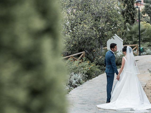 La boda de Jame y Karolina en Ojen, Málaga 34
