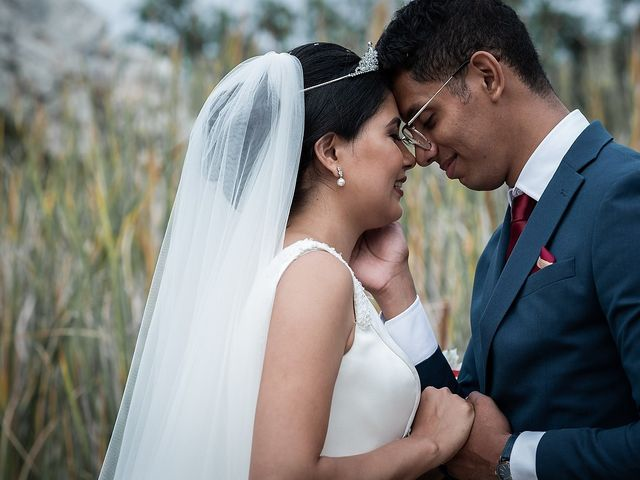 La boda de Jame y Karolina en Ojen, Málaga 36