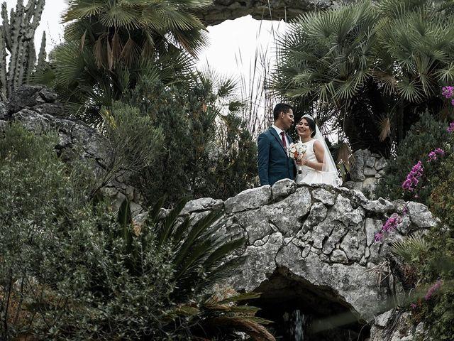 La boda de Jame y Karolina en Ojen, Málaga 43