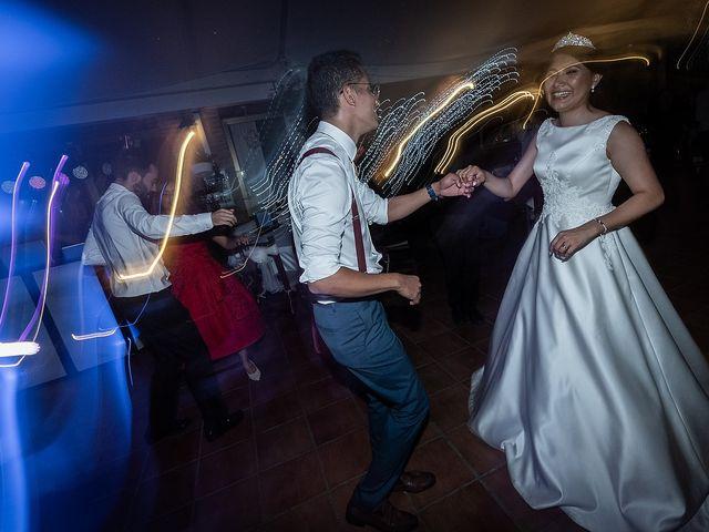 La boda de Jame y Karolina en Ojen, Málaga 57