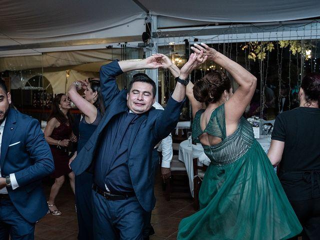 La boda de Jame y Karolina en Ojen, Málaga 58