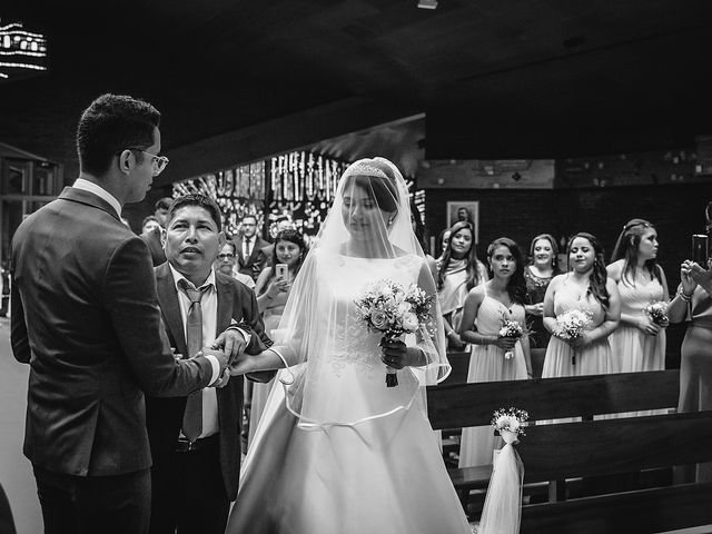 La boda de Jame y Karolina en Ojen, Málaga 64