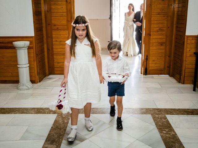 La boda de David y Elena en Almerimar, Almería 25