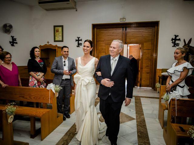 La boda de David y Elena en Almerimar, Almería 26