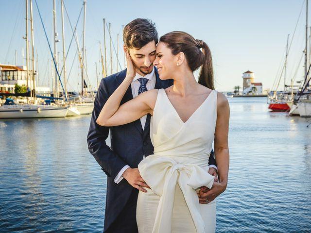 La boda de Elena y David