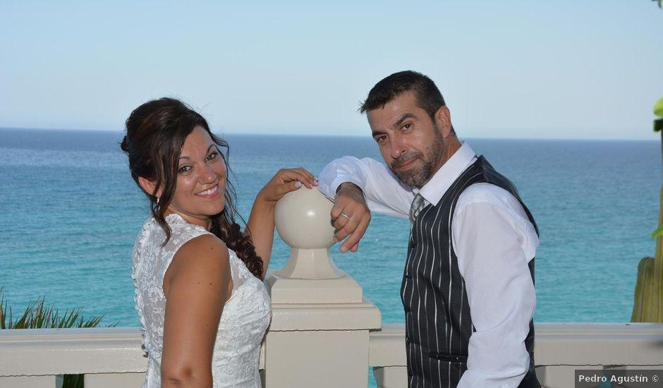 La boda de Rocio y Rafael en La/villajoyosa Vila Joiosa, Alicante