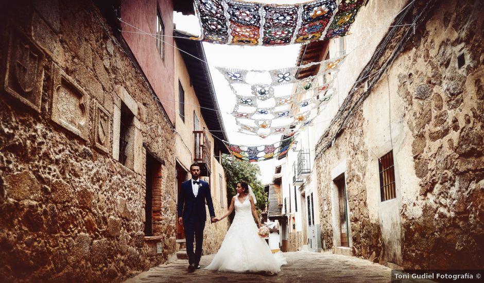 La boda de Adolfo y Mélissa en Valverde De La Vera, Cáceres