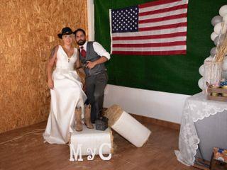 La boda de María del Pino y Caleb