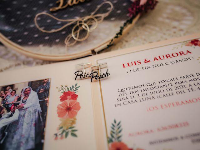 La boda de Luis y Aurora en Alacant/alicante, Alicante 1