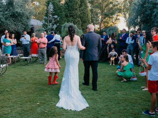 La boda de David y Miriam en Chinchon, Madrid 4