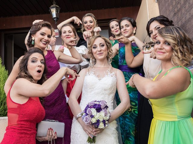 La boda de Pili y German en Alalpardo, Madrid 17