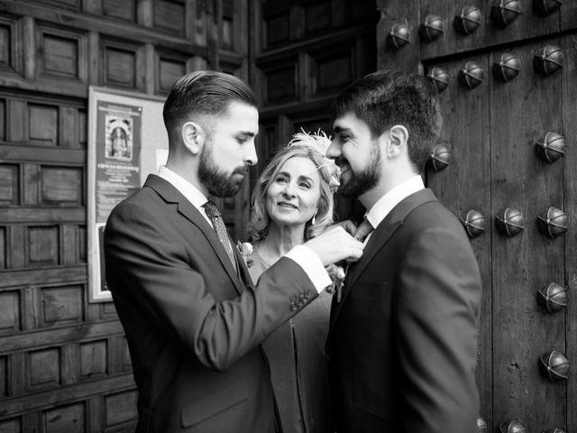 La boda de Adrian y Paula en Toledo, Toledo 15