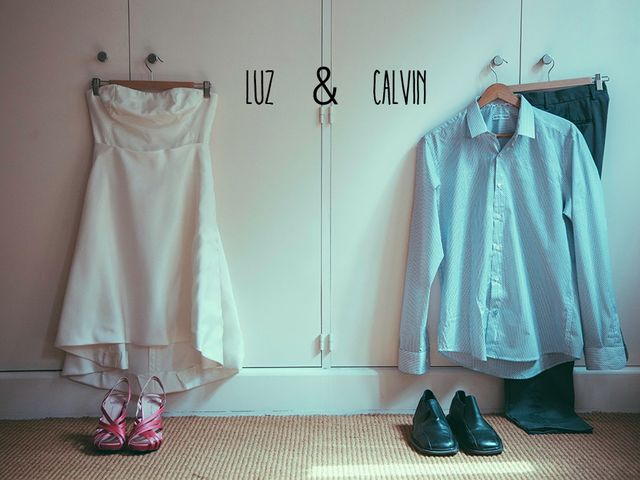 La boda de Luz y Calvin
