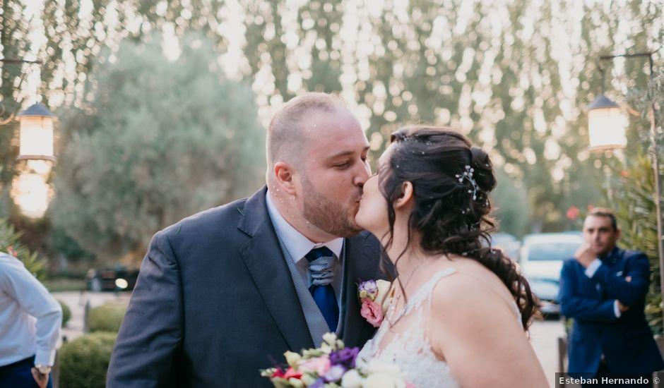 La boda de David y Miriam en Chinchon, Madrid