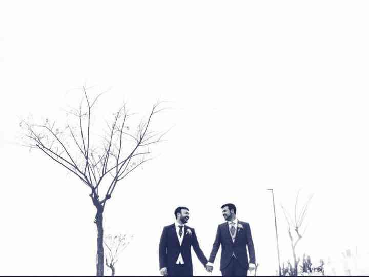La boda de Daniel y Enrique