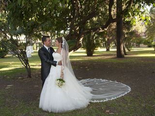 La boda de David y Sarai