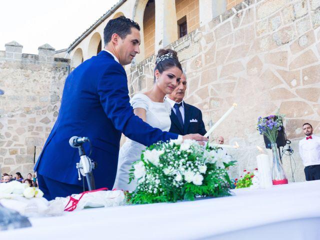 La boda de Ismael y Cristina en San Vicente De Alcantara, Badajoz 12