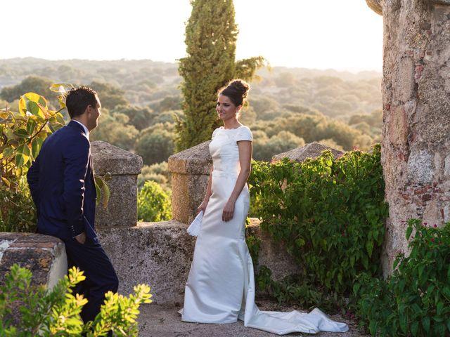 La boda de Ismael y Cristina en San Vicente De Alcantara, Badajoz 15